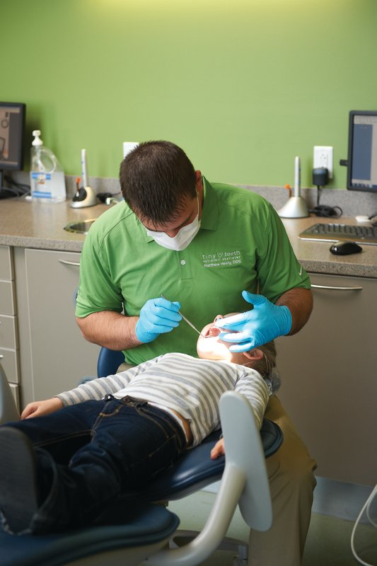 Oral Conscious Sedation at Tiny Teeth Pediatric Dentistry in Wichita, KS